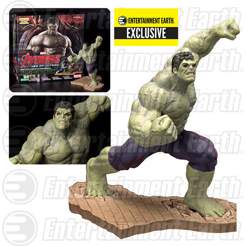 Avengers: Age of Ultron Rampaging Hulk ArtFX Statue - Entertainment Earth Exclusive