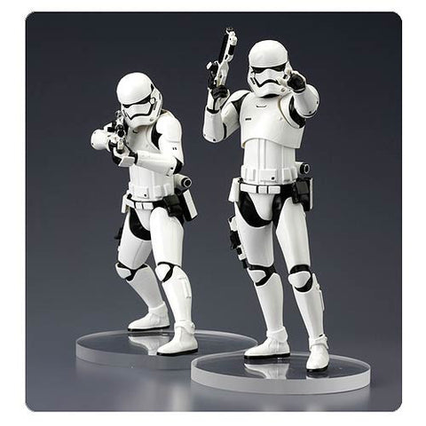 Star Wars: Episode VII - The Force Awakens First Order Stormtrooper ArtFX+ Statue 2-Pack
