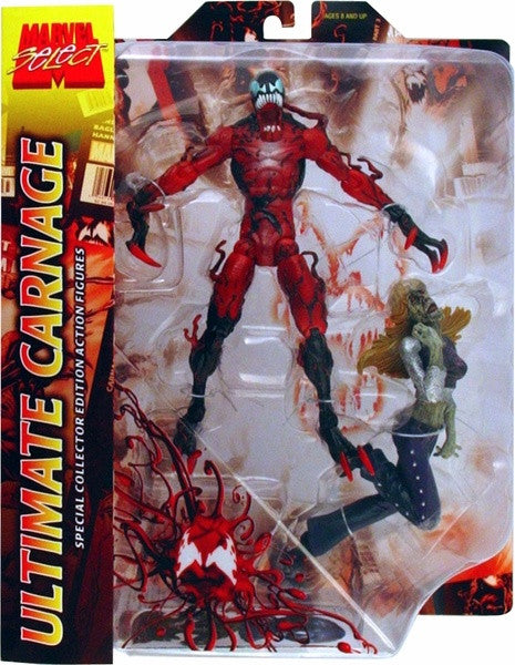 Marvel Select: Ultimate Carnage Action Figure – Atomic CandyUltimate Carnage Marvel Select