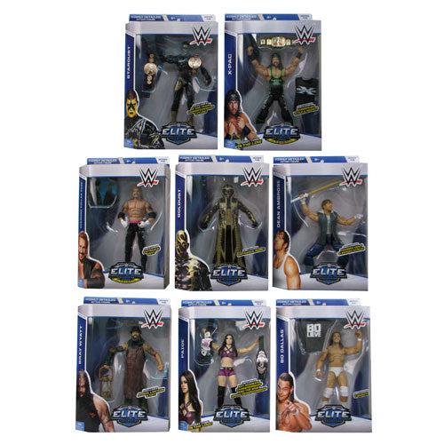 WWE Elite Collection Series 36 Revision 1 Action Figure Case