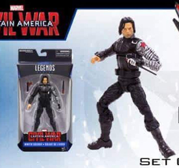 Marvel Legends Walmart Exclusive Bucky Winter Soldier single pack