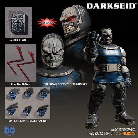 Mezco 2017 One12 Collective Darkseid DC