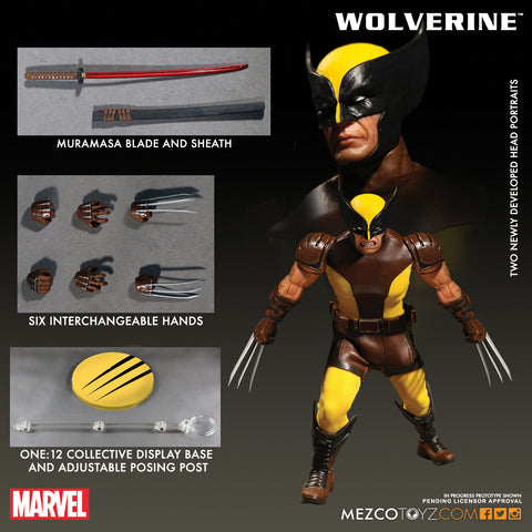 Mezco 2017 One12 Collective Wolverine Marvel