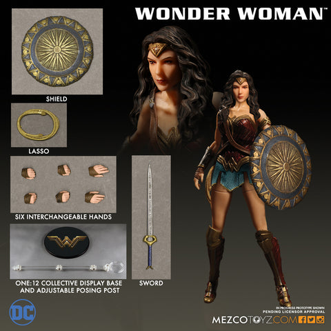 Mezco 2017 One12 Collective Wonder Woman DC