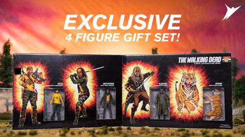 Skybound Walking Dead SDCC 2017 Exclusive – The Shiva Force Box Set