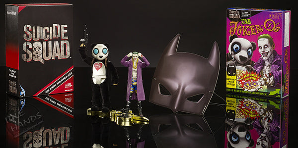 DC COMICS MULTIVERSE SUICIDE SQUAD THE JOKER AND PANDA 2 PACK