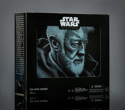 SDCC 2016 Old Ben EPS 4 Star Wars Black Series Set