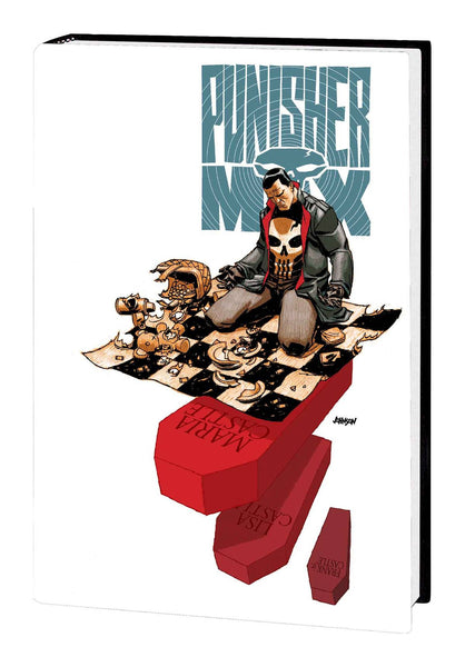 PUNISHER MAX BY JASON AARON AND STEVE DILLON OMNIBUS HC