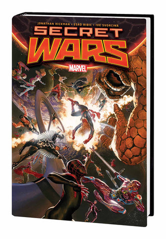 SECRET WARS BY JONATHAN HICKMAN AND ESAD RIBIC HC