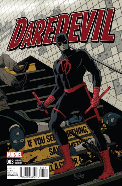 DAREDEVIL VOL. 5 #3 PAOLO RIVERA VARIANT