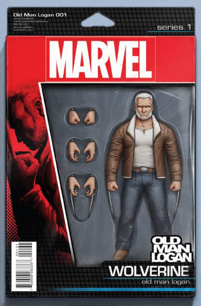 OLD MAN LOGAN #1 CHRISTOPHER ACTION FIGURE VARIANT