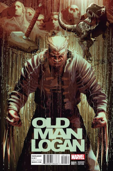 OLD MAN LOGAN #1 MIKE DEODATO VARIANT