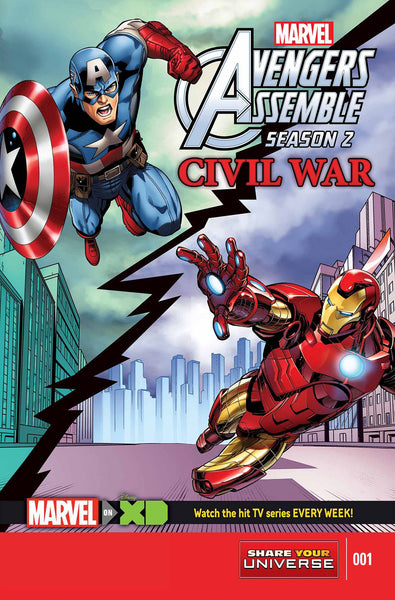 MARVEL UNIVERSE AVENGERS ASSEMBLE CIVIL WAR (#1 to #5)