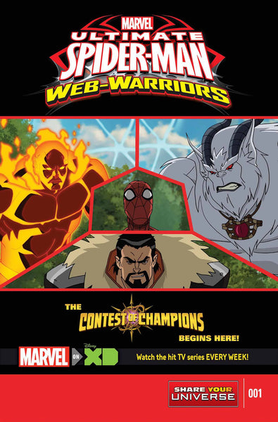 MARVEL UNIVERSE ULT SPIDER-MAN CONTEST OF CHAMPIONS (#1 to #5)