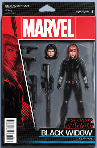 BLACK WIDOW VOL. 6 #1 JOHN TYLER CHRISTOPHER ACTION FIGURE VARIANT