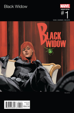 BLACK WIDOW VOL. 6 #1 PHIL NOTO HIP HOP VARIANT