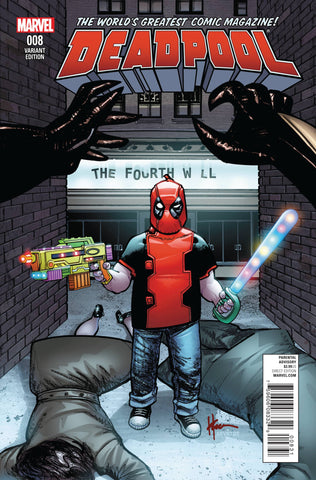 DEADPOOL VOL. 5 #8 HOWARD CHAYKIN CLASSIC VARIANT