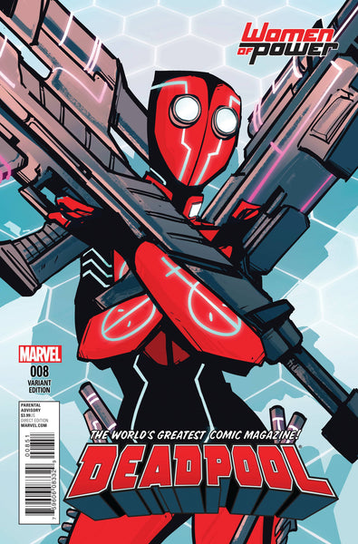 DEADPOOL VOL. 5 #8 ANNIE WU WOMEN OF POWER VARIANT