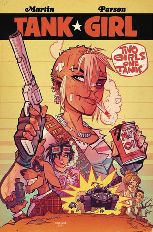 TANK GIRL 2 GIRLS 1 TANK #1 (OF 4)
