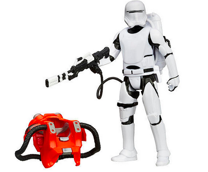 STAR WARS EPISODE 7 3.75-INCH ARMOR SERIES WAVE 1: FIRST ORDER FLAMETROOPER ACTION FIGURE
