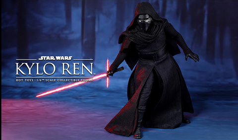 Star Wars Side Show Kylo Ren Hot Toys