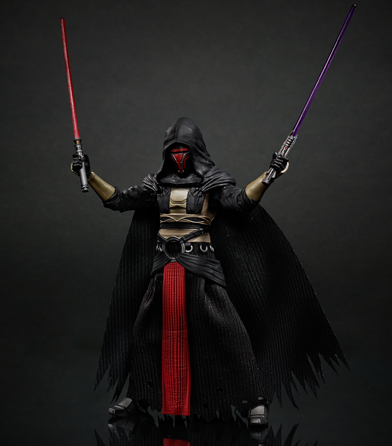 "STAR WARS HASBRO Darth Revan 6"" black series"
