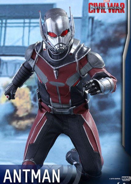 Marvel Hot Toys Civil War Ant Man