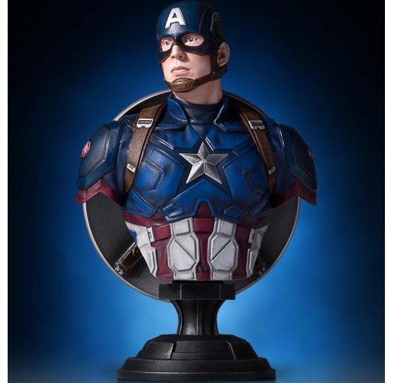 Captain America: Civil War Classic Bust - Captain America Gentle Giant