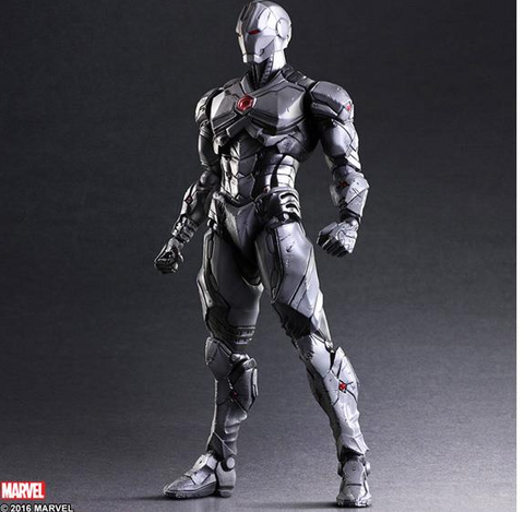 Marvel Universe Variant Play Arts Kai Figure - Iron Man Limited Color Edition