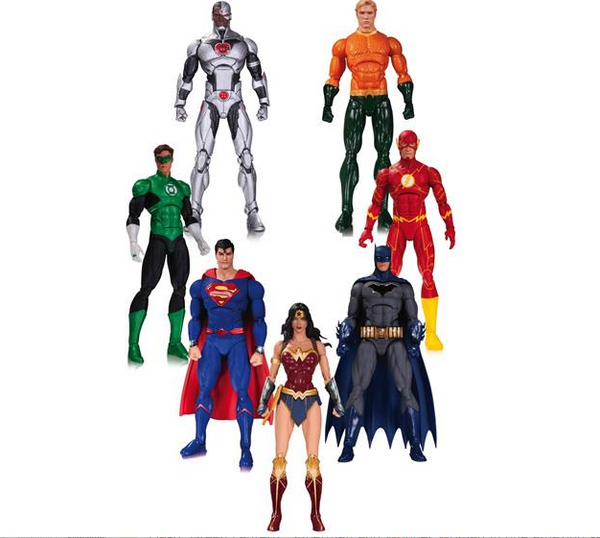 DC Rebirth Justice League of America Seven Pack