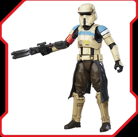 HASBRO Rogue One: A Star Wars Story – Black Series 6″ Scale Figures Shore Trooper