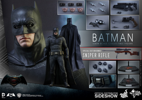 Sideshow Hot Toys BvS Batman