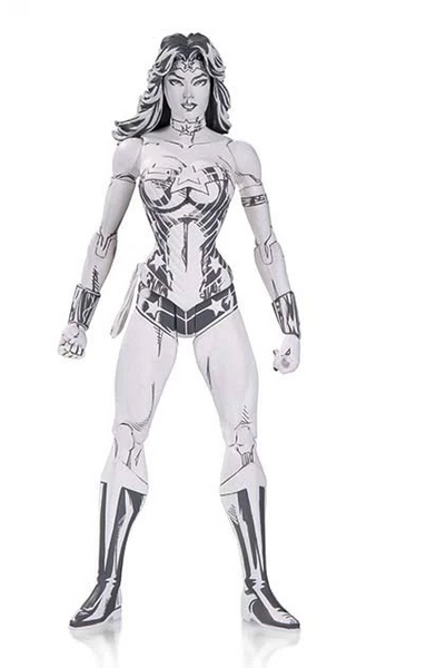DC BLUELINE WONDER WOMAN ACTION FIGURE BY JIM LEE