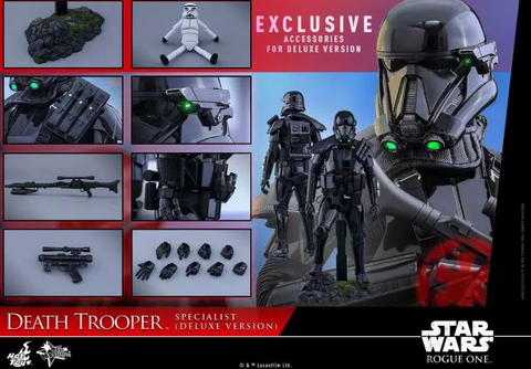 HotToys Rogue One – 1/6th scale Death Trooper Specialist (Deluxe Version)