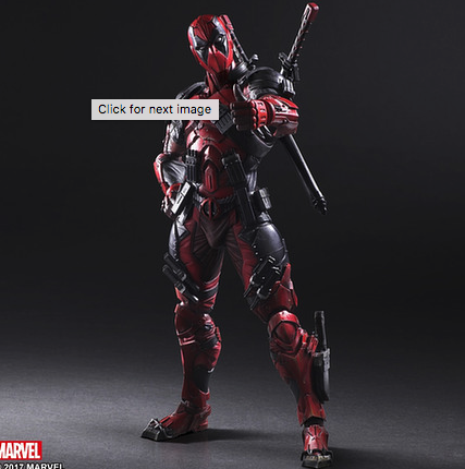 Marvel Universe Variant Play Arts Kai Deadpool