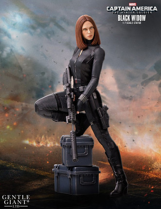 1/8 Captain America: The Winter Soldier -- Black Widow