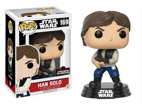 FUNKO Star Wars Celebration Exclusive Han Solo