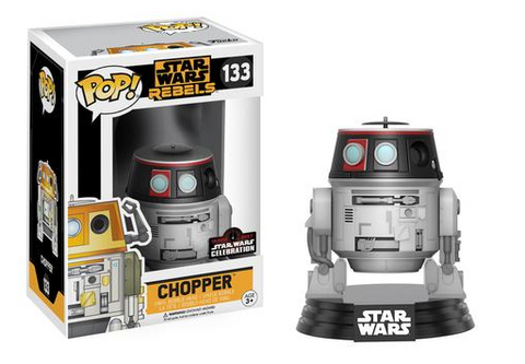 FUNKO Star Wars Celebration Exclusive Chopper