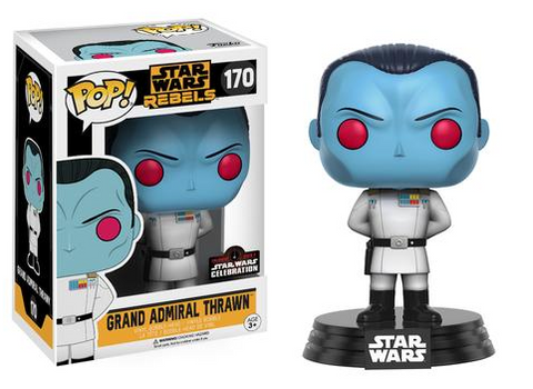 FUNKO Star Wars Celebration Exclusive Pop!: Rebels – Grand Admiral Thrawn