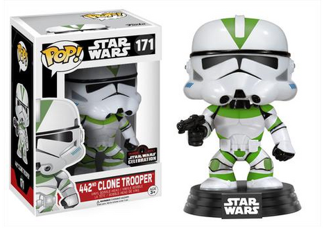 FUNKO Star Wars Celebration Exclusive Pop!: 442nd Clone Trooper