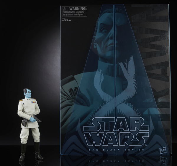 STAR WARS: THE BLACK SERIES 6-INCH GRAND ADMIRAL THRAWN (SDCC Exclusive)