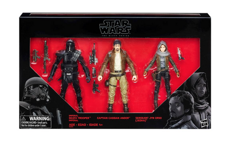 Target Exclusive Star Wars Rogue One Black Series 6″ Figure 3 Pack