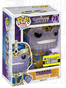 FUNKO Marvel Thanos EE Exclusive Glow in the Dark Pre Order (free ship in Singapore and Free Gift)