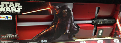 TRU EXCLUSIVE STAR WARS TFA KYLO REN LIGHT SABER