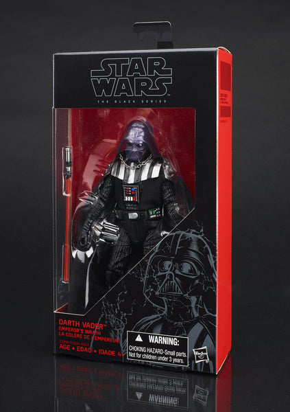 "Walgreens Exclusive Darth Vader 6"" Black Series."