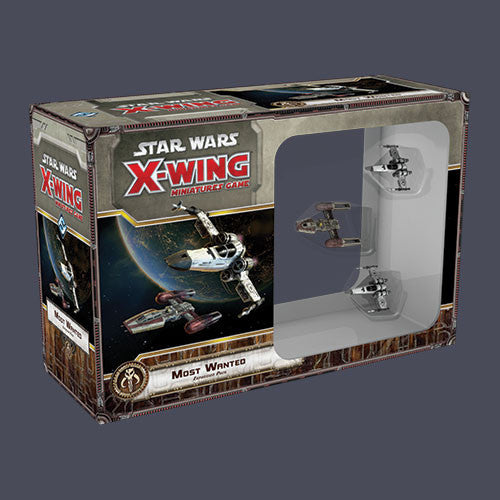 Star Wars X Wing Miniature Game Most Wanted