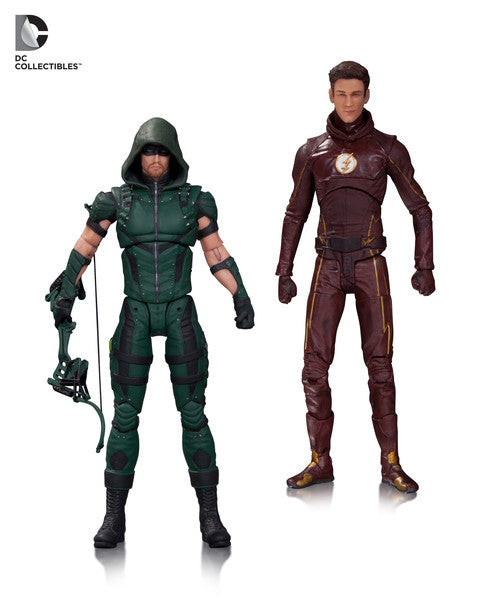 Arrow TV: Action Figure Two Pack Green Arrow & The Flash 6""
