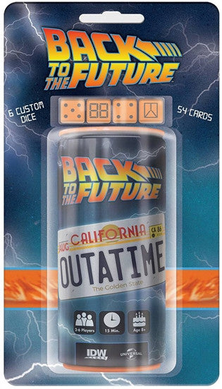 Back To The Future: Outatime Dice Game