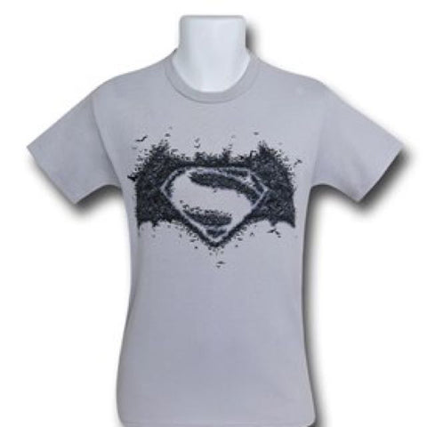 Batman V Superman White T Shirt