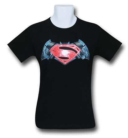 Batman V Superman Industrial Symbol T Shirt